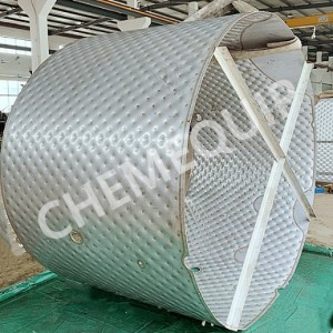 Hot sale Dimple Jacketed Tank - Laser Welded Tank – Chemequip Industries Co., Ltd.