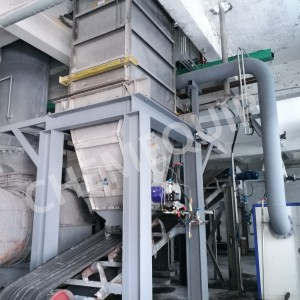 Bulk Solid Plate Heat Exchanger