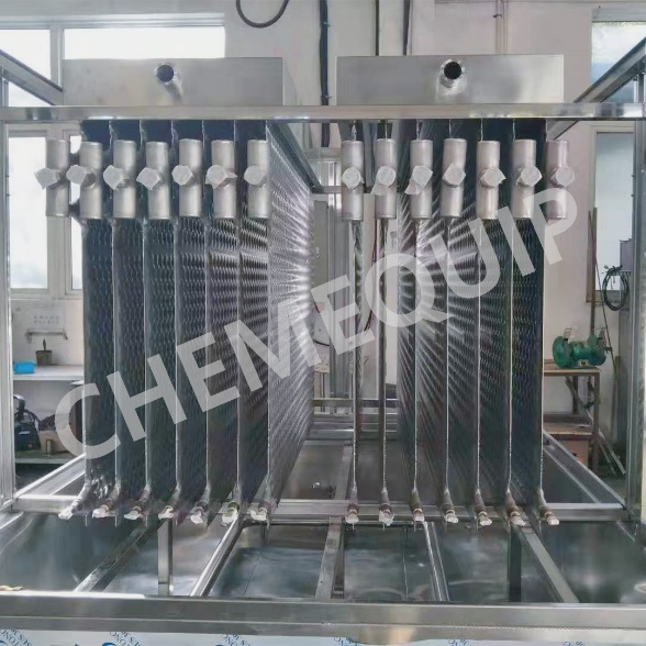 2020 wholesale price Full Stainless Steel Plate Ice Machine - Plate Ice Machine with Pillow Plates Evaporators – Chemequip Industries Co., Ltd.