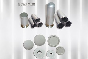 Bare Aluminum Roll Plastic Sintered Filter -