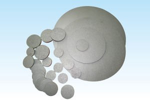 Alu-Zinc Steel Plate Metal Porous Filter Discs -