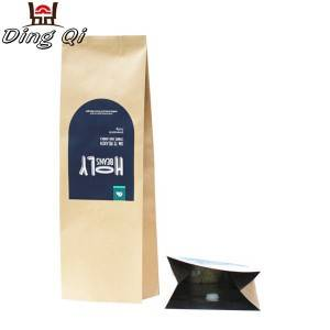 Custom Side gusset coffee bags 0.25lb 0.5lb 1lb 2lb 5lb