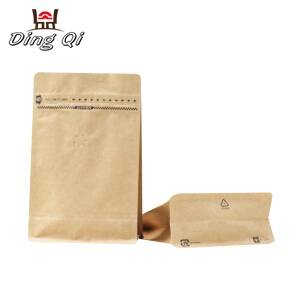 flat bottom coffee bags 250g 340g 500g 1kg 2kg
