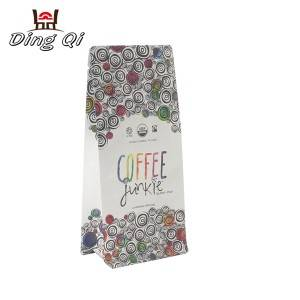 Custom printed coffee bags  250g 340g 500g 1kg 2kg