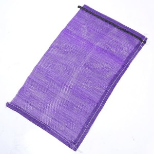 Purple 25lb PP Woven Mesh Bag For Onions