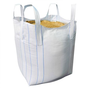 Reusable Cubic Polypropylene Flexible Container Bulk Ton Bags For Coal