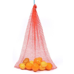 Poly drawstring net bags Mesh Sack for onions