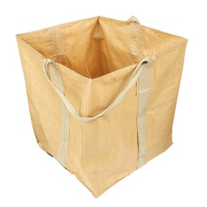 Factory Price One ton Big Polypropylene Jumbo Bag For Garden Waste Construction Waste