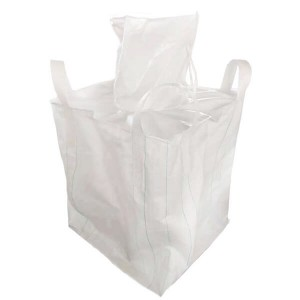 Purchase high quality one ton bulk bags for gravel with handle for sale