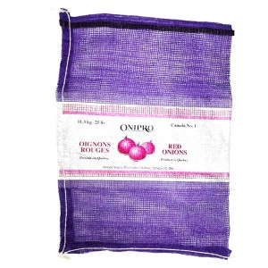 Customized PP PE onion mesh bags 5kg