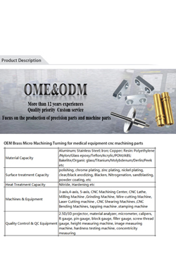 China High definition Custom Aluminium Machining - Factory Price CNC