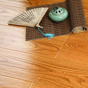 U Groove Hand Scraped Surface Laminate Flooring