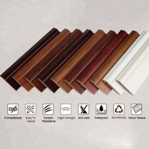 PVC&Vinyl Skirting, T-mouding, End cap, Skirting board.