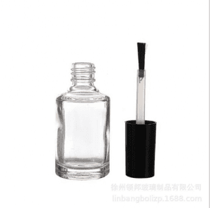 Nail Polish Bottle With Cap And Brush