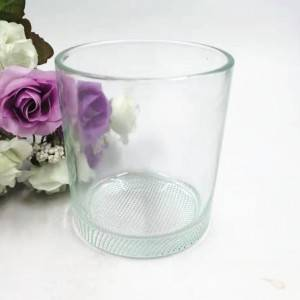 Round glass beer cup