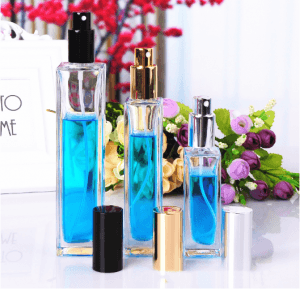 Sprayer Glass Perfume Bottle