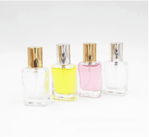 50ml Clear Glass Perfume Bottle