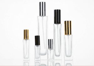Empty Glass Perfume Clear Bottle