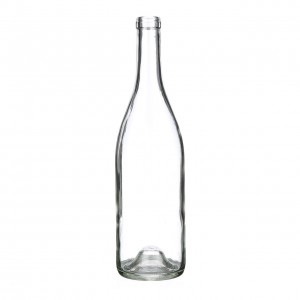 Cork Top Red Wine Glasss Bottle