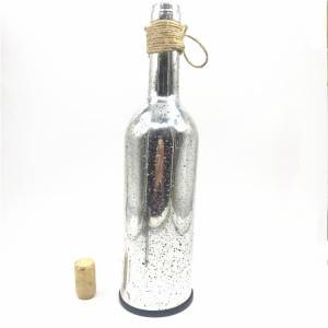 Glass bottle with LED light for Holiday