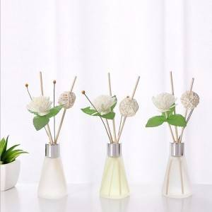 50ml decorative perfume fragrance reed glass diffuser bottle