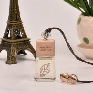 Fragrance Glass Car Hanging Perfume Bottle