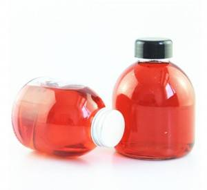 OEM Customized Beverage Glass Bottle 300ml -