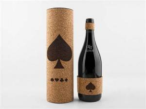 Red Wine Bottle Tube Packaging
