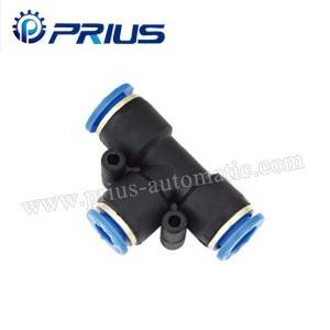 Pneumatic fittings PTG