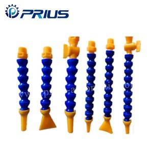 Changeable Plastic Flexible Coolant Pipe Self – Sealing With PVC Nozzle