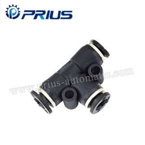 Pneumatic fittings PUT-C
