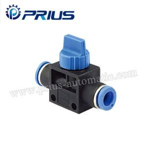 Pneumatic fittings HVFF