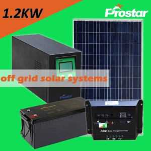 Prostar 1200w off grid photovoltaic systems