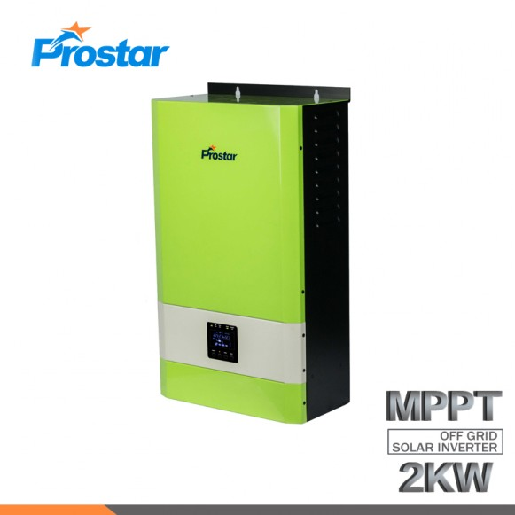 Wall Mounted 24V 2KW/2000W Solar Inverter with AC Charger and 60A MPPT Solar Charger