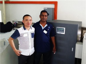 Prostar 50KVA UPS Applied to Malaysia Manufacturing Factory
