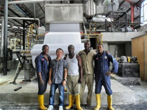Prostar 300KVA UPS Applied to Nigeria Paper Towel Factory