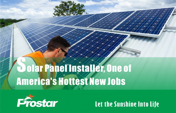 Solar Panel Installer, One of America's Hottest New Jobs