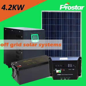 Prostar 4000w off grid solar system output for home refrigerator