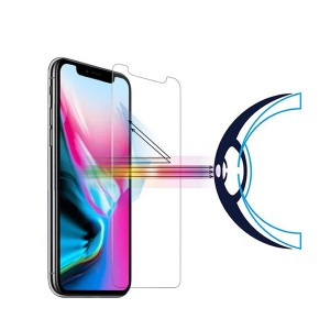 Anti-Blue Light Ray Eye Protect Tempered Glass Screen Protector for iPhone X 2018