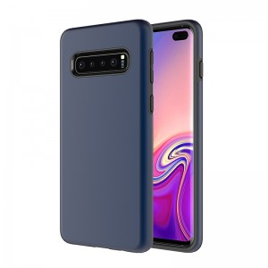 TPU+PC Ultra Thin 2 in 1 Hybrid Hard Plastic Case Anti-Scratch Matte Finish Slim Fit Cover Case for Samsung Galaxy s10