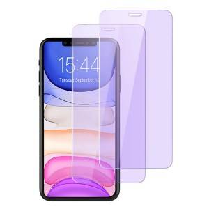 Blocks Excessive Harmful Blue Light Tempered Glass Screen Protector For iPhone 11 Pro Max