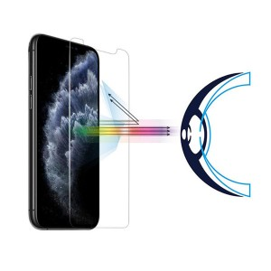 2.5D Anti Blue Light Tempered Glass Back Screen Protector for iPhone 11 Pro Max