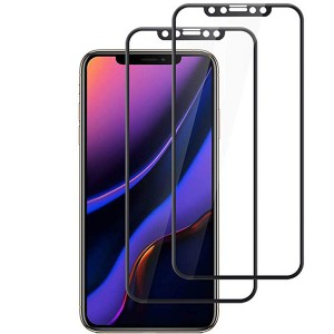 Mobile Phone Silk Screen 9H 2.5D Tempered Glass Screen Protector for iPhone XS