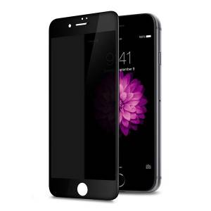 Anti-Spy Scratch Fingerprint Full Coverage Unbreakable Screen Protector for iPhone 7 8 Plus