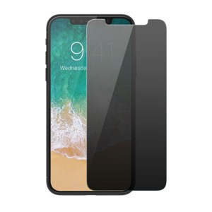 2.5D Privacy Tempered Glass Screen Protector for iPhone X 2018