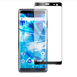 0.3MM Slim 3D Full Coverage 9H Hardness Glass Protector for Sony Xperia XZ3