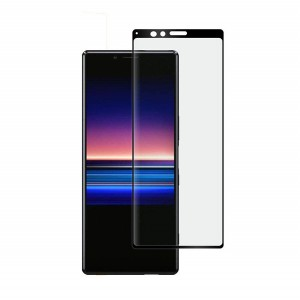 Full Coverage 2.5D Screen Guard Tempered Glass for Sony Xperia XZ4