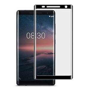 3D Cured Tempered glass screen protector For Nokia 8 Sirocco