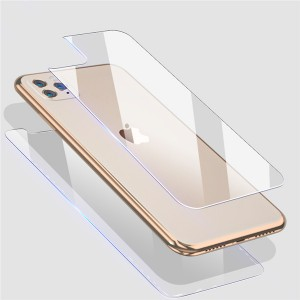 Factory wholesale Ultra Thin 0.33mm Back Screen Protector for Apple iPhone 11 Pro Max 2019