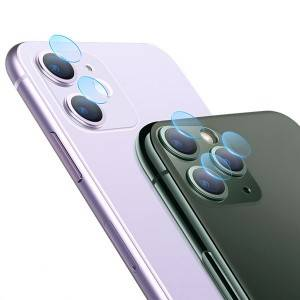 3 Pieces iPhone 11 Pro Transparent Explosion-proof Camera Lens Tempered Glass